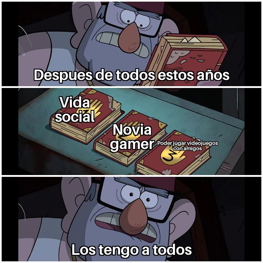 Los 3 - meme