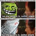 """no me quiero señor stark :""""v"""
