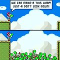 Yoshi & Super Mario