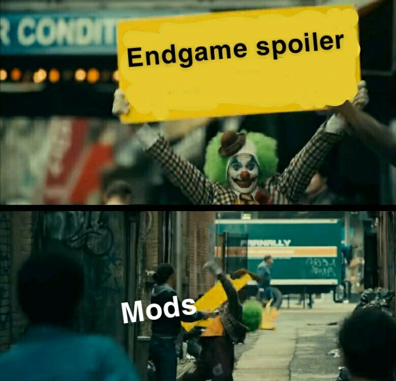 No spoilers - meme