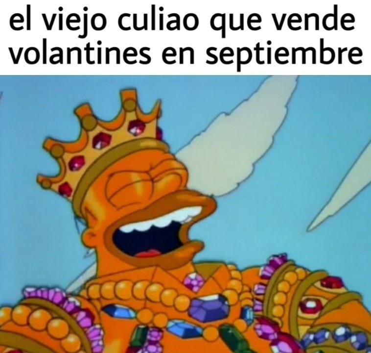 Felices fiestas patria viva Chile - meme