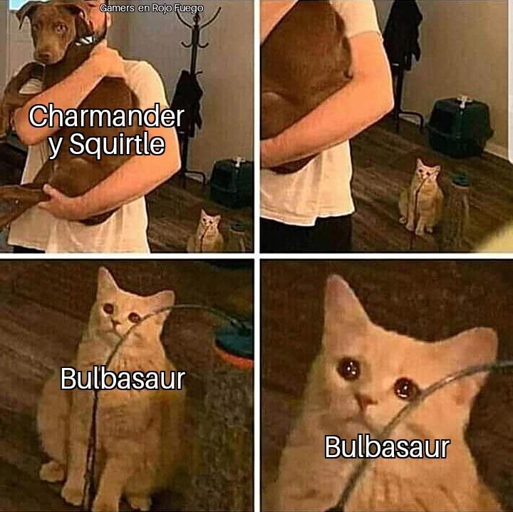 F por Bulbasaur - meme