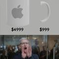 Pra colarem a alça da xícara é mais $499