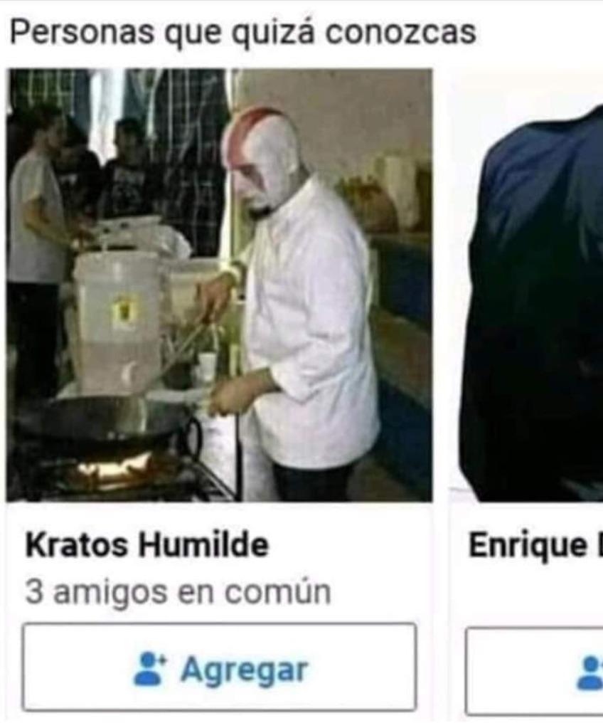 Da pena el kratos  - meme