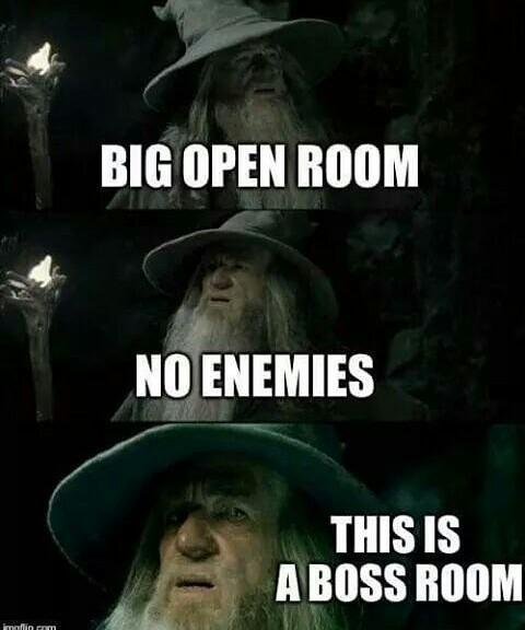 Boss room - meme
