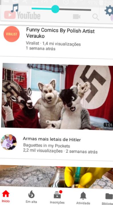 Hitler quase ganhou a guerra - meme