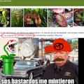 Para los ignorantes esa planta te podía comer en Mario bros