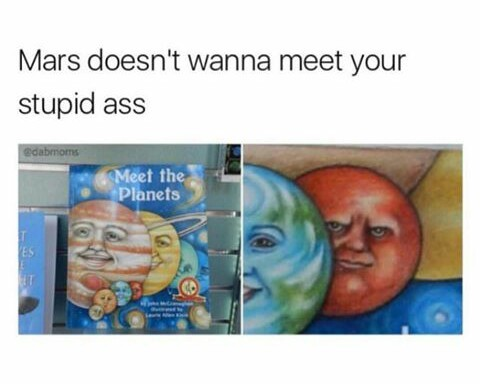 Mars - meme