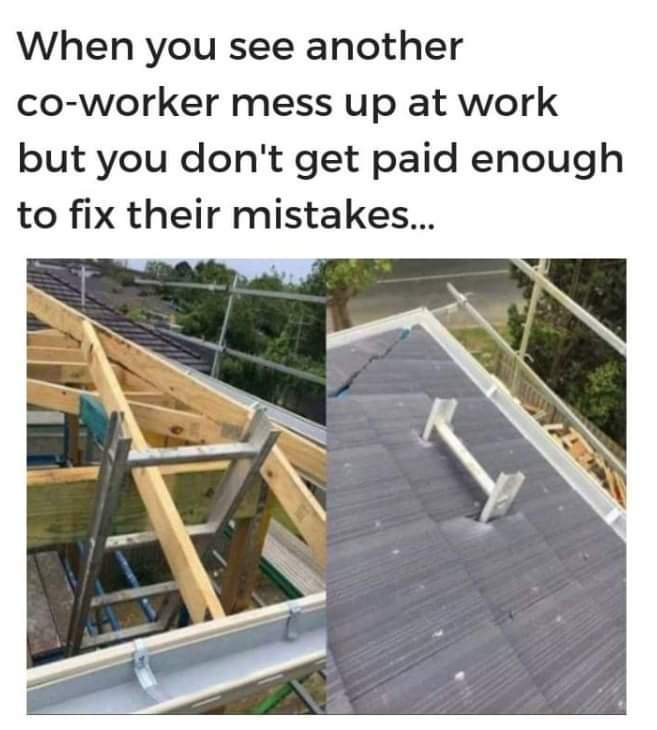 A permanent ladder.. - meme
