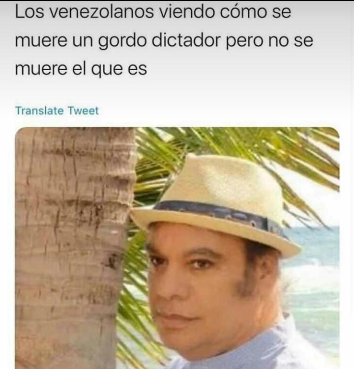 Una adivina cubana dijo que en América se va a morir otro - meme
