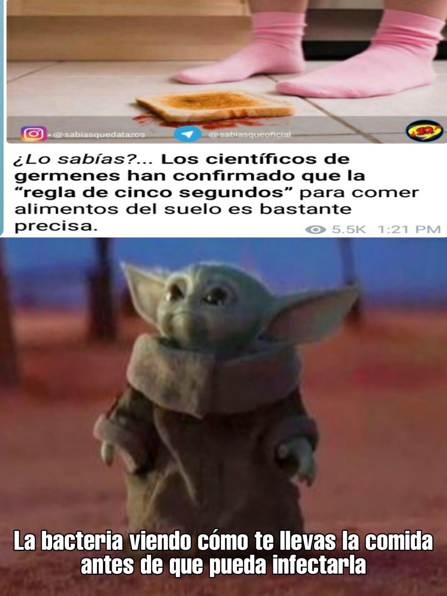 Me encanta el Yoda baby - meme