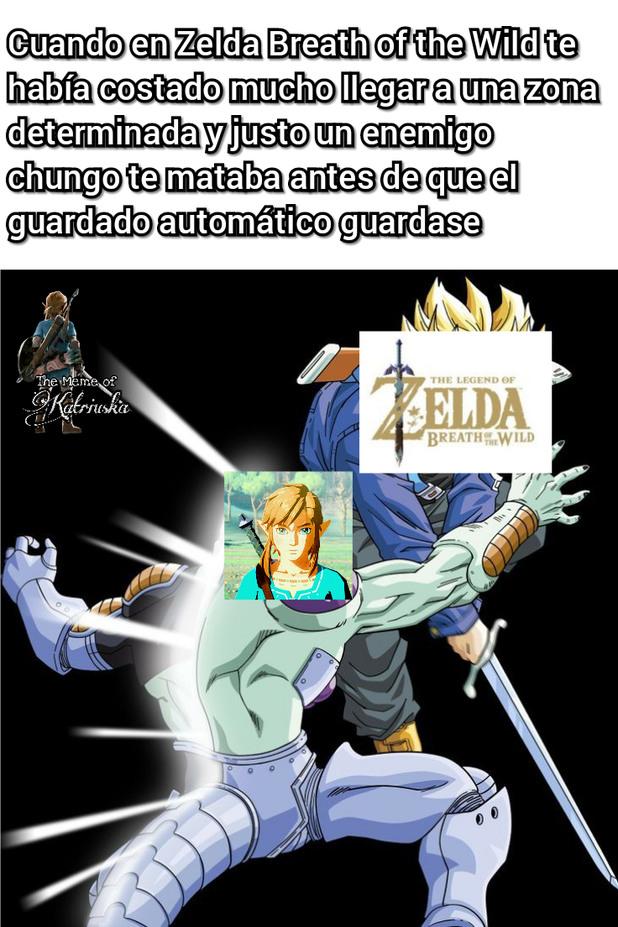Típico de Zelda - meme