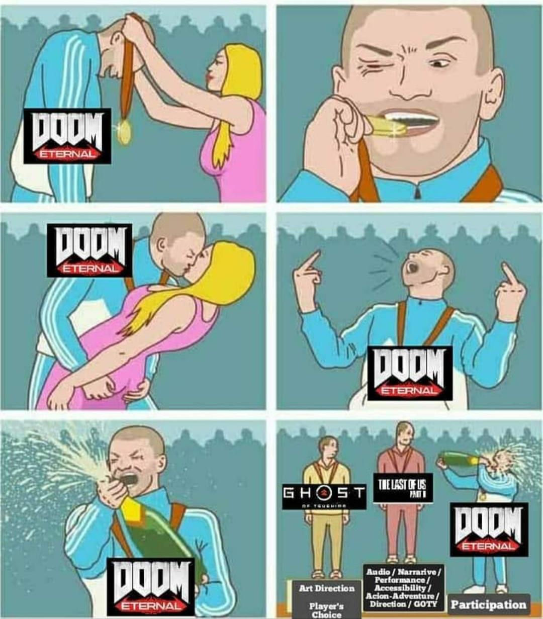 DOOM DANS TON LIT ! - meme