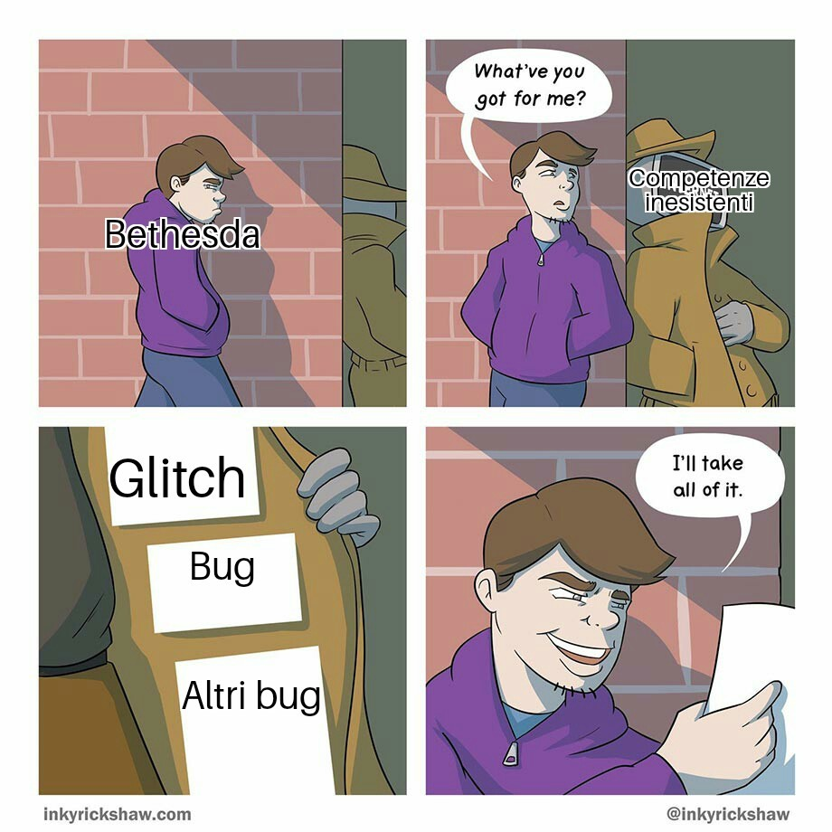 Bugthesda - meme