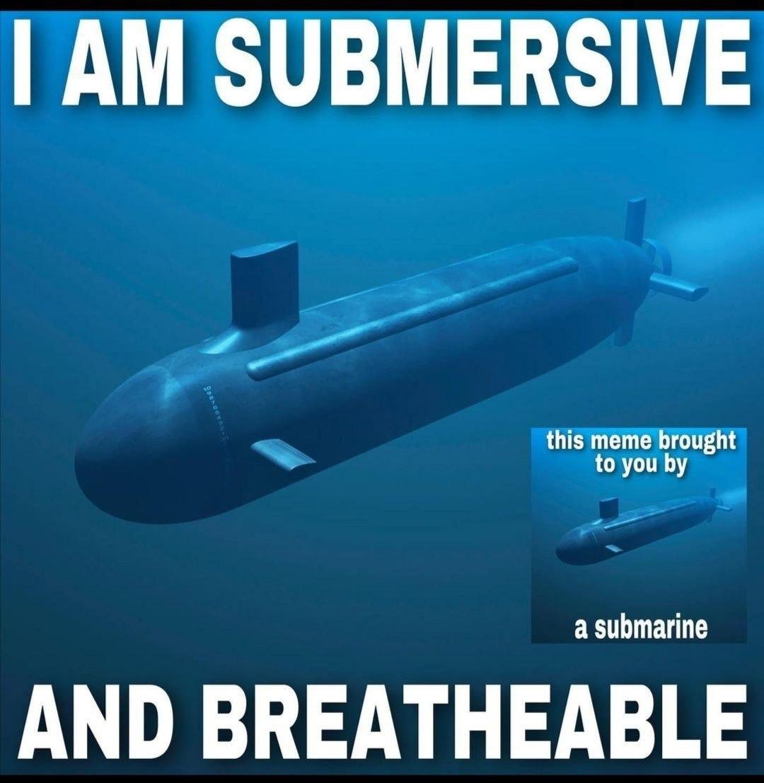 Submarine gang - meme