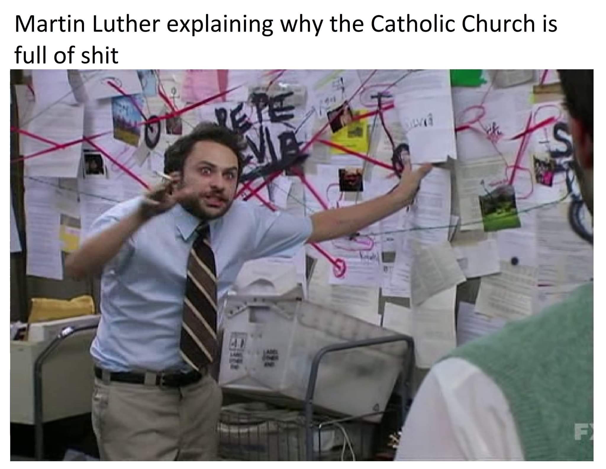 catholics or neckbeards won't understand - meme