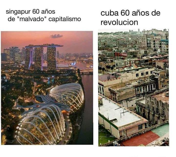 Terrible el capitalismo. - meme