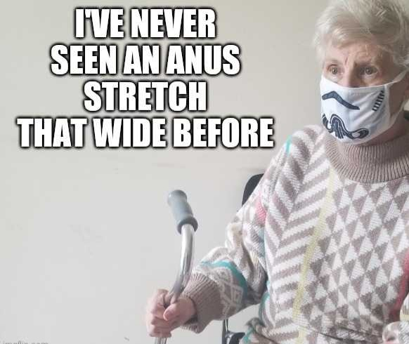 Words from an old demented lady - meme