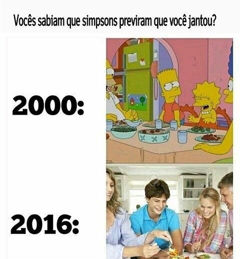 Simpsons nunca falha - meme