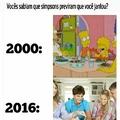 Simpsons nunca falha