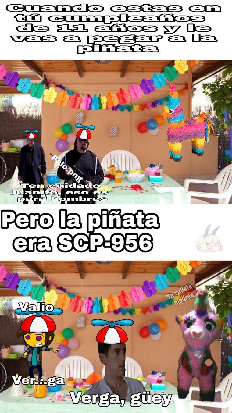 Recorte muy mal a SCP-956 - meme