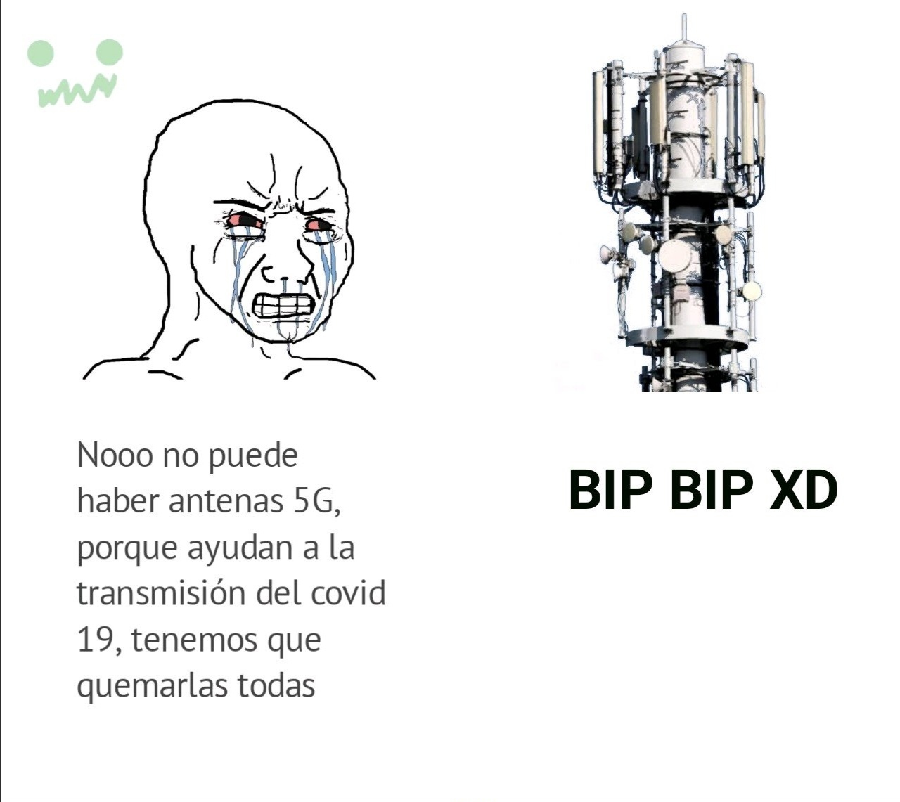 Bip Bip XD............no porque tenga un XD significa que sea panafresco o papulince - meme