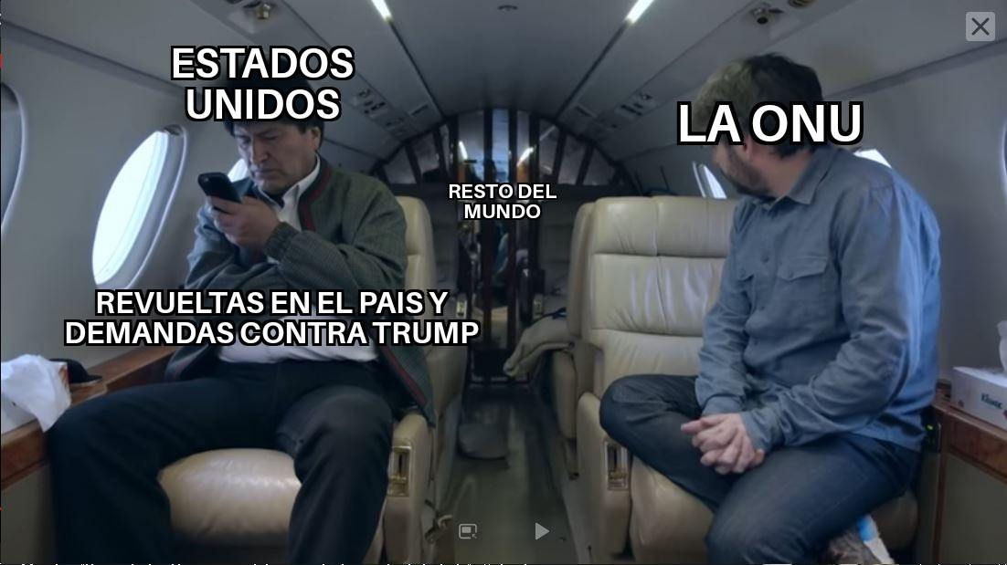 la ONU como siempre - meme