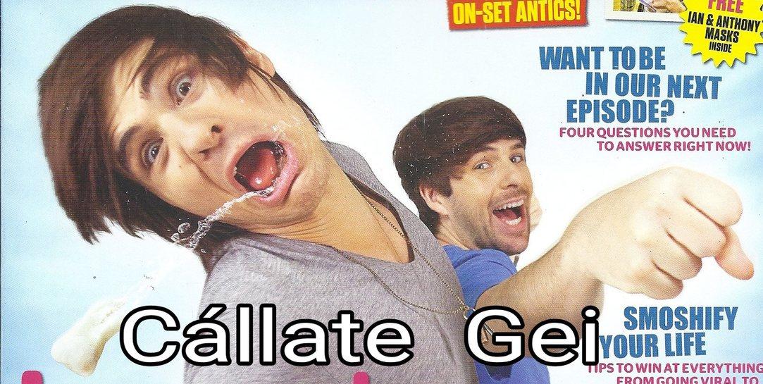 Cállate Gei - meme