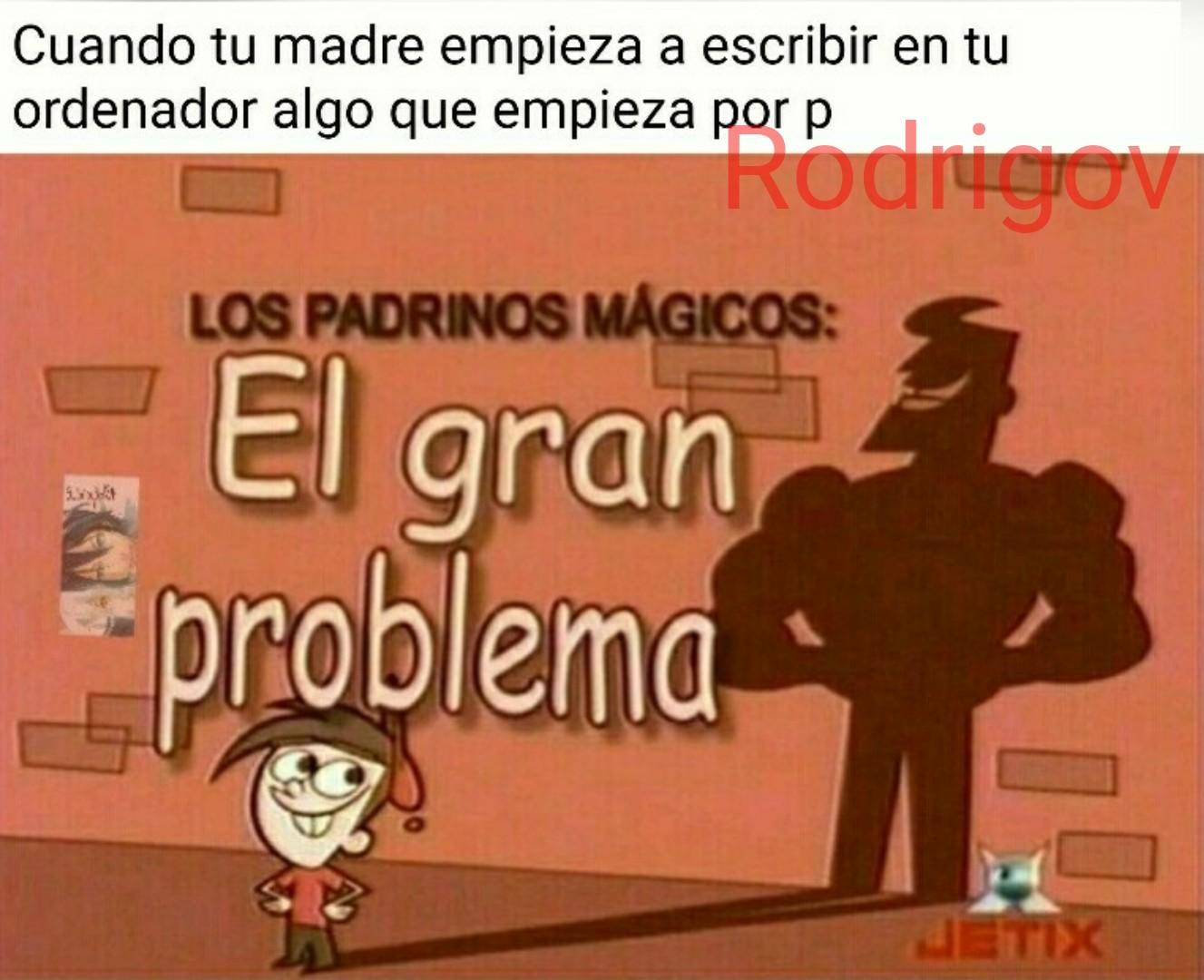 El gran problema - meme
