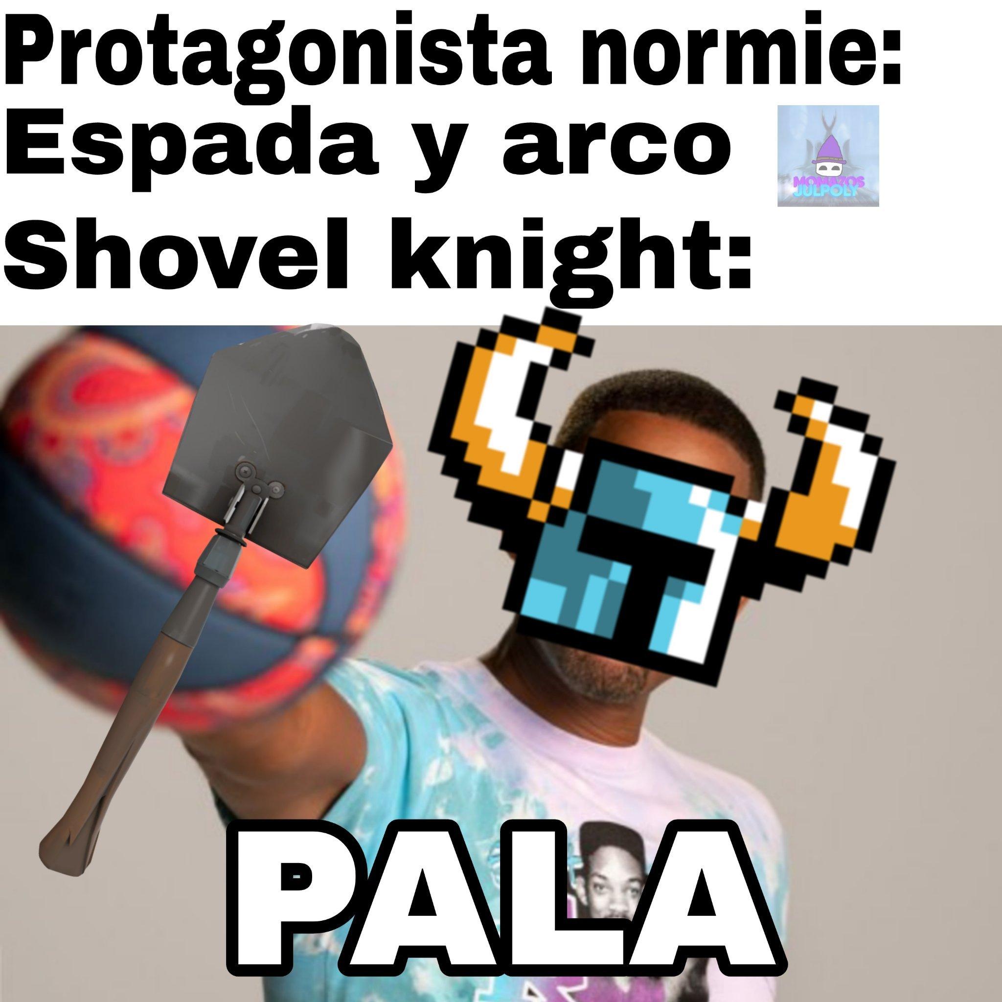 Chad shovel knight - meme
