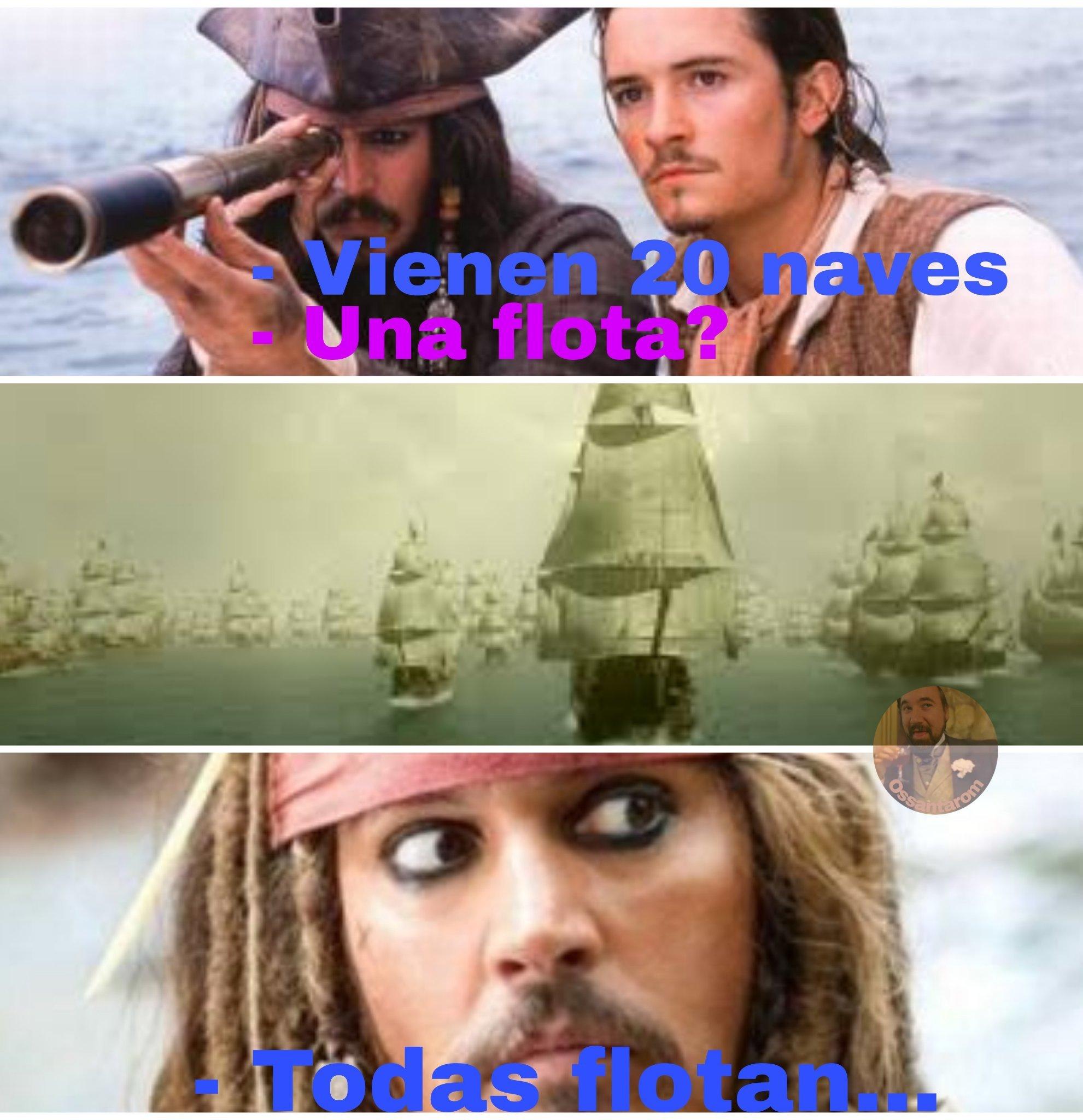 No todo lo que flota es pato - meme