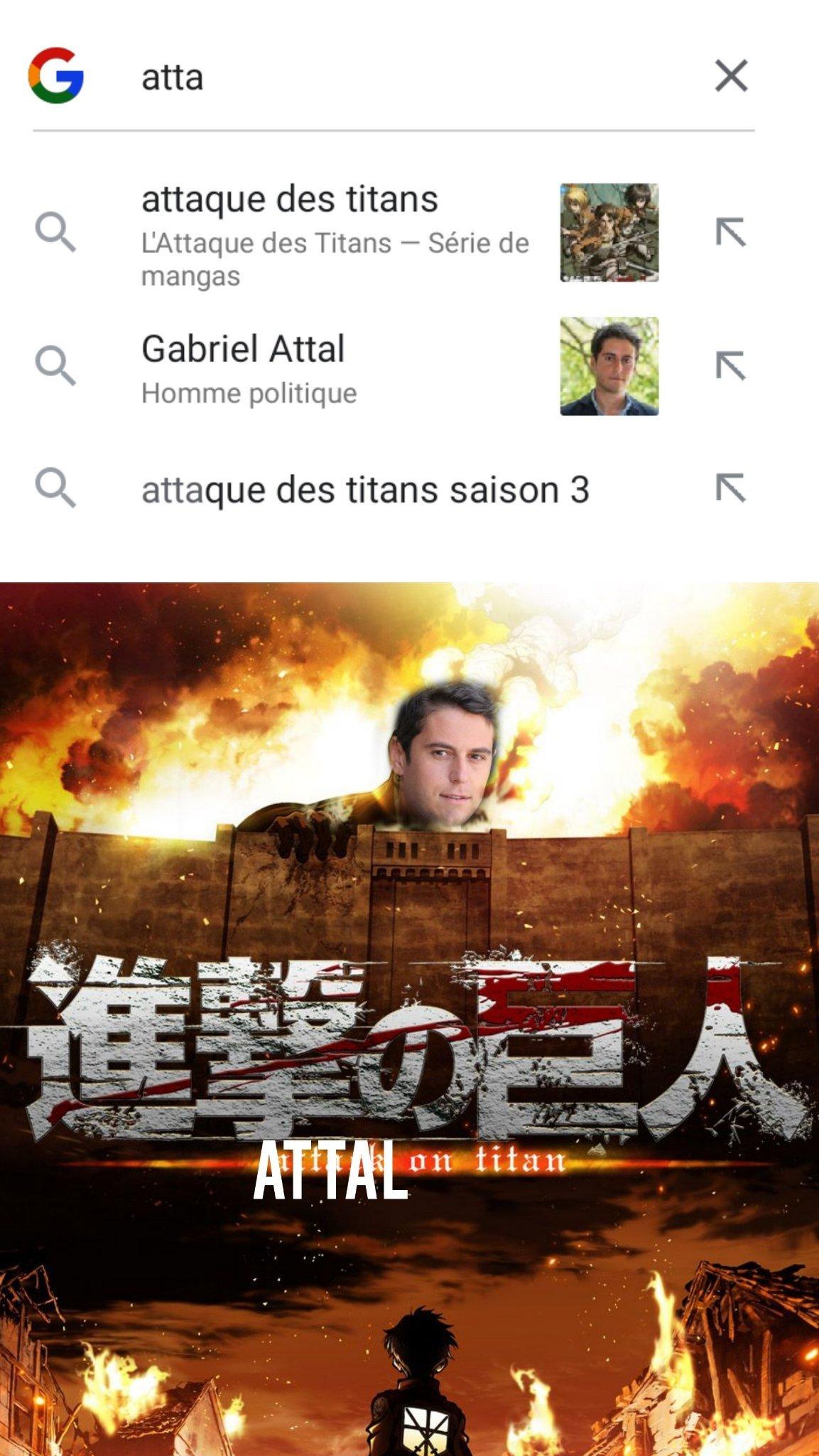 Le Titan porte-parole - meme