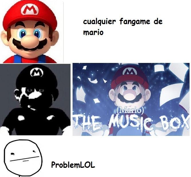 alguien a jugado mario the music box? - meme