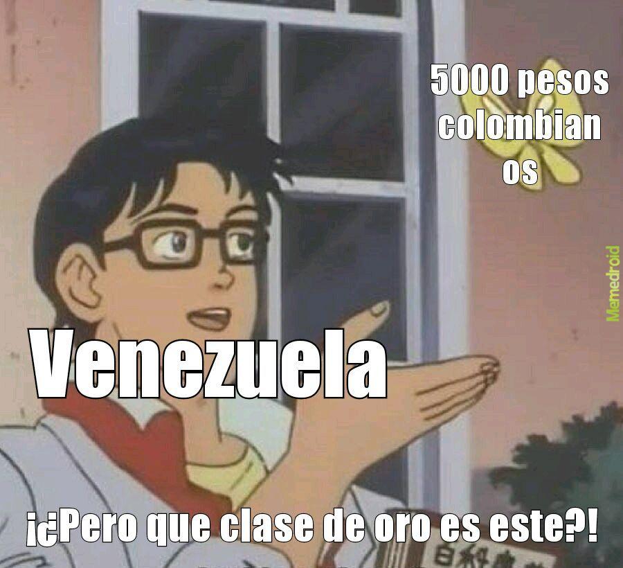 Venezolanos xd - meme