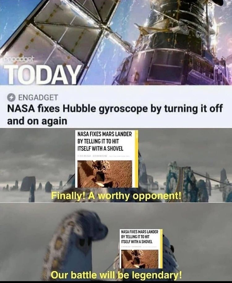 worthy opponent - meme