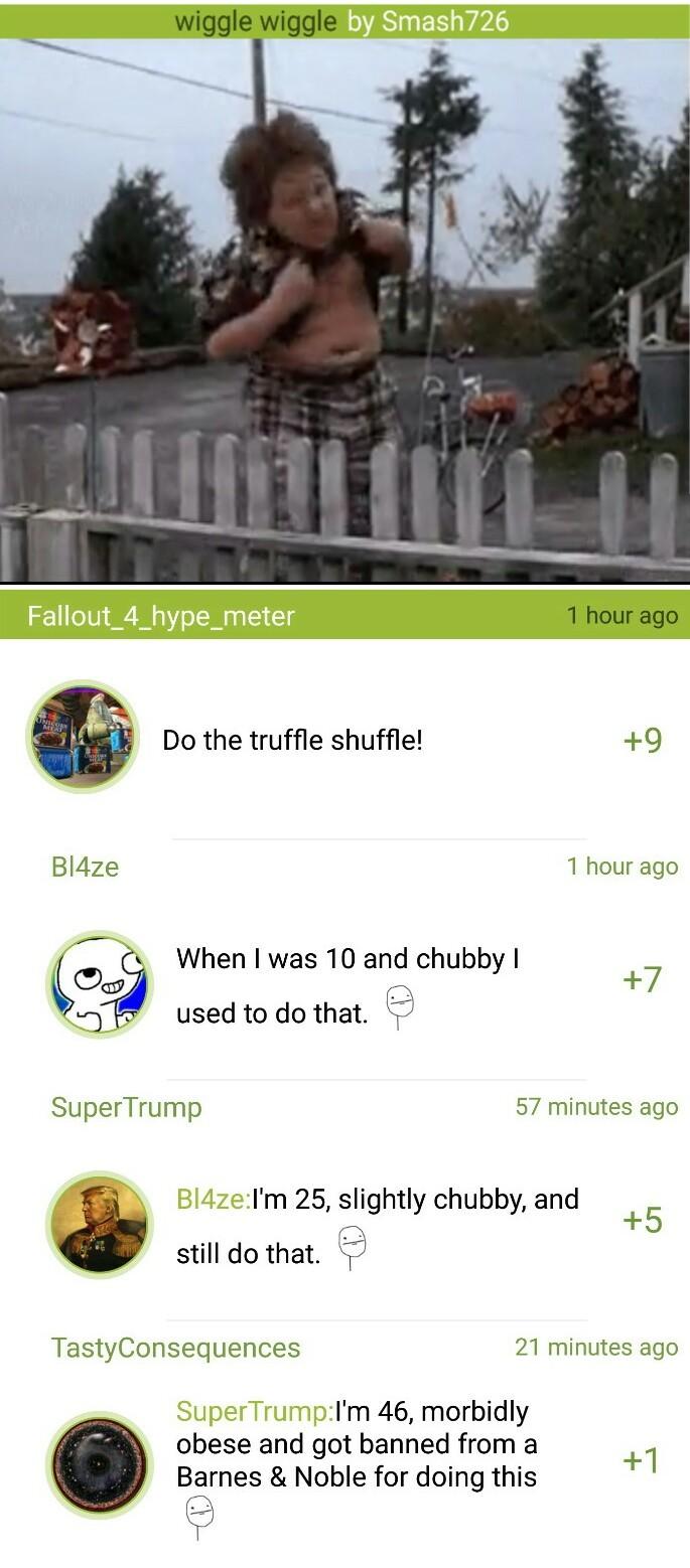 Truffle Shuffle - meme