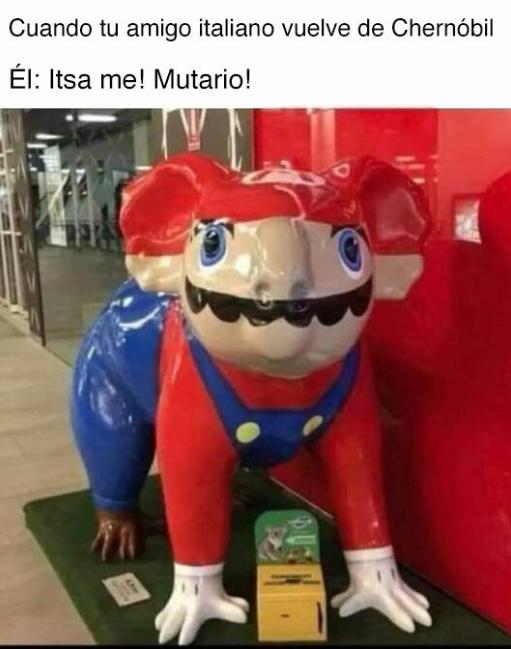 SUPER MARIO CHERNOBYL - meme
