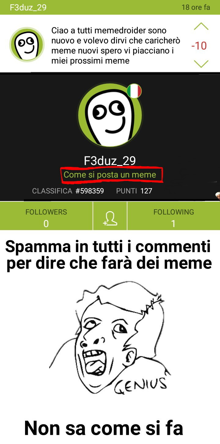 Degrado :happy: [Cit. Cosmaj] - meme