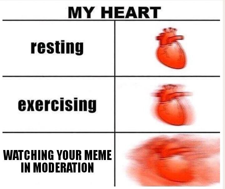 Watched pot never smoaks - meme