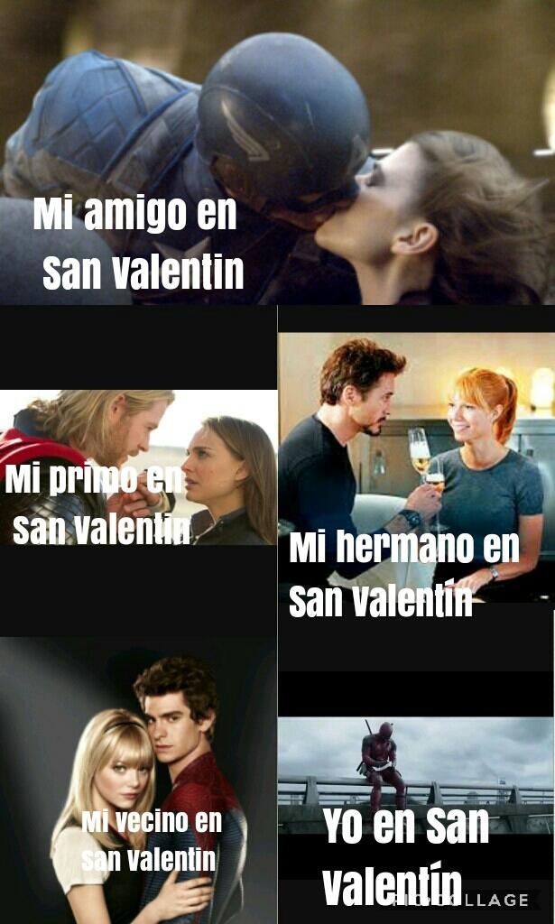 San Valentín - meme
