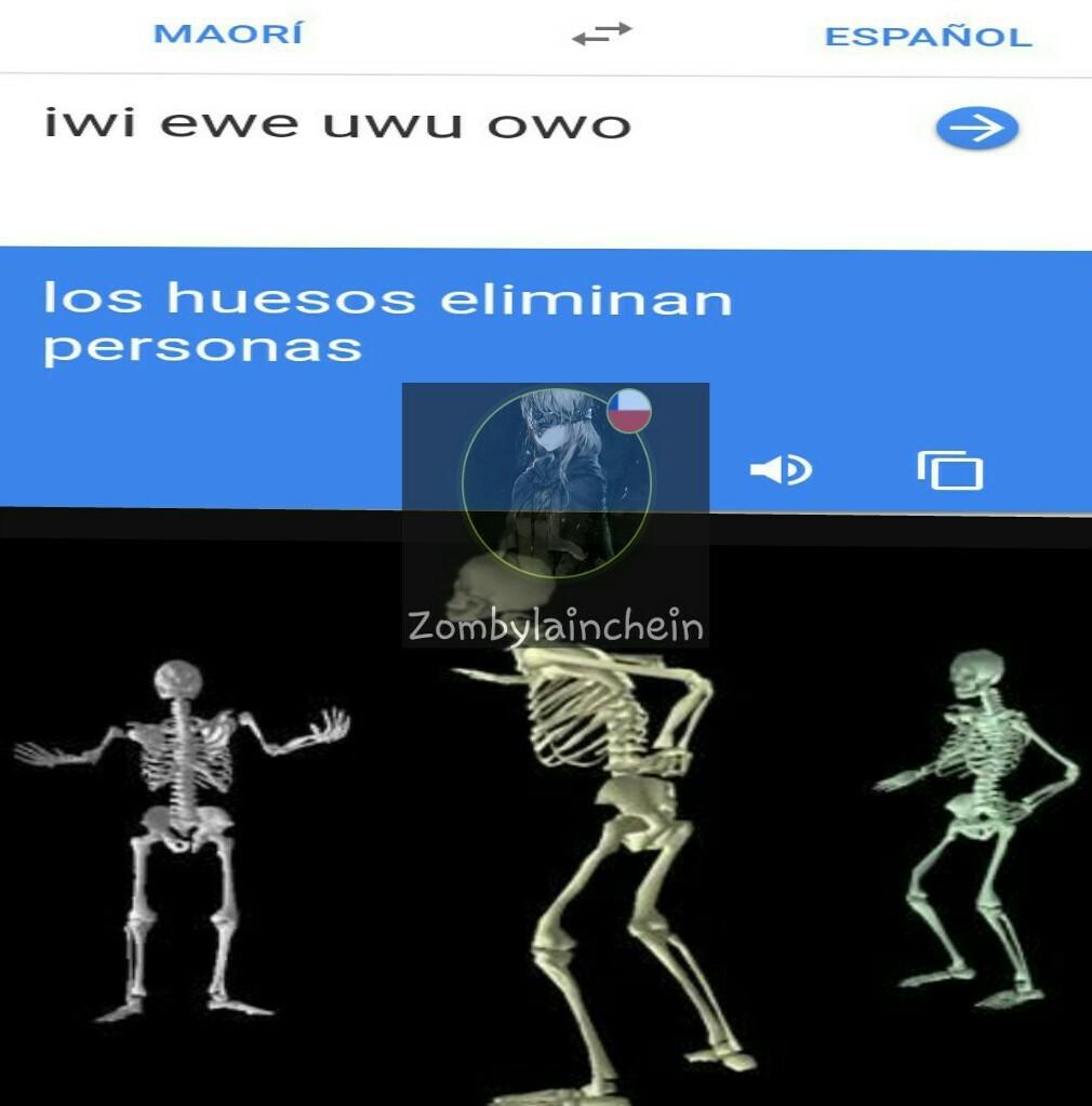 Los huesos nos dominan - meme