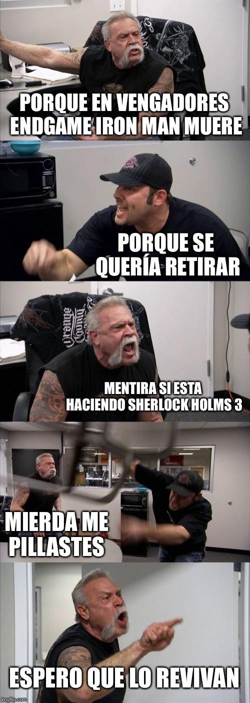Vengadores endgame - meme