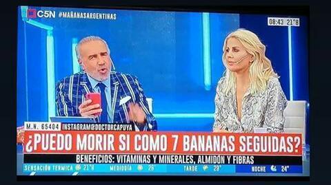 Periodismo Argentino el más serio - meme