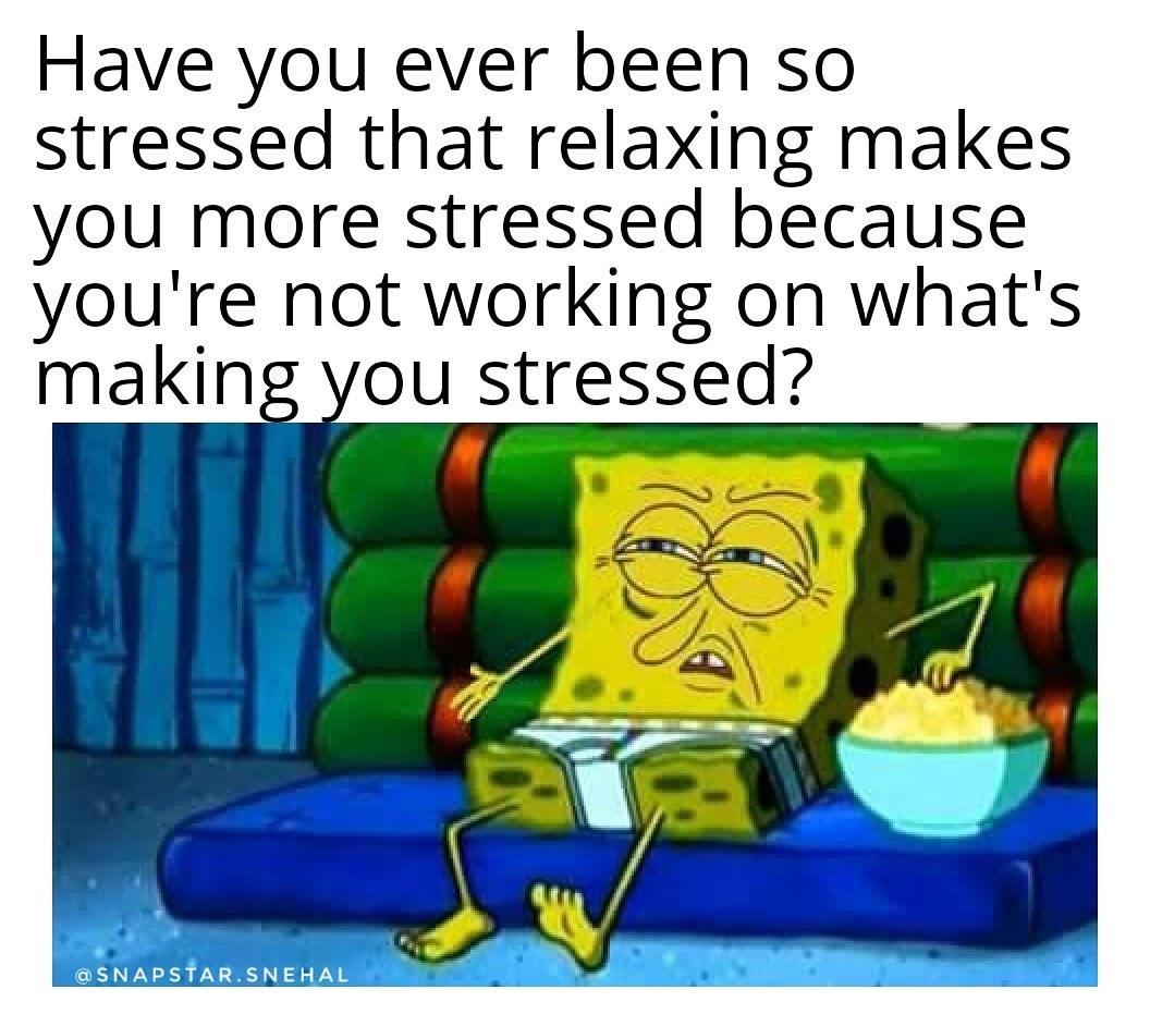Stressaxing - meme