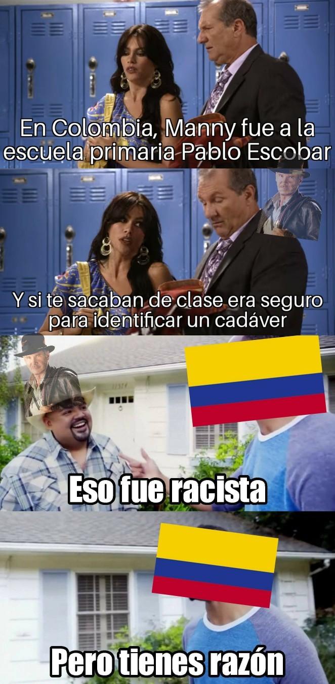 Momento Colombia - meme
