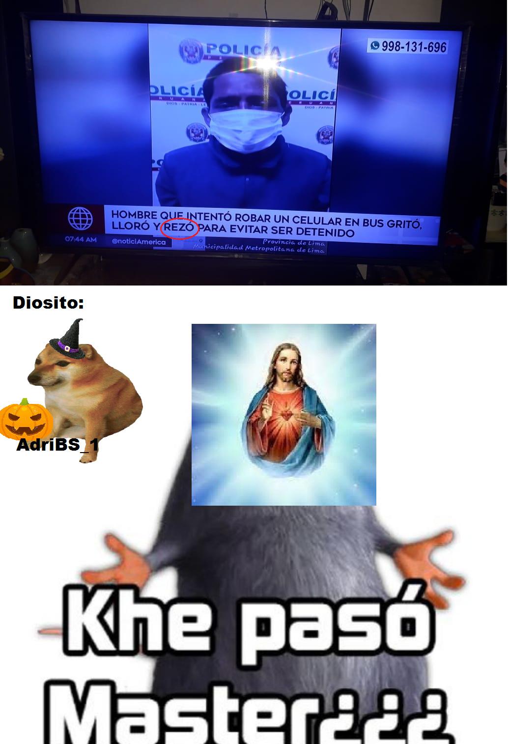 Por si c preguntan es una noticia de mi país (Perú) - meme