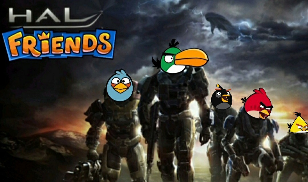 HAL FRIENDS, ahora con multiplayer, historia épica y la secuela más esperada - meme