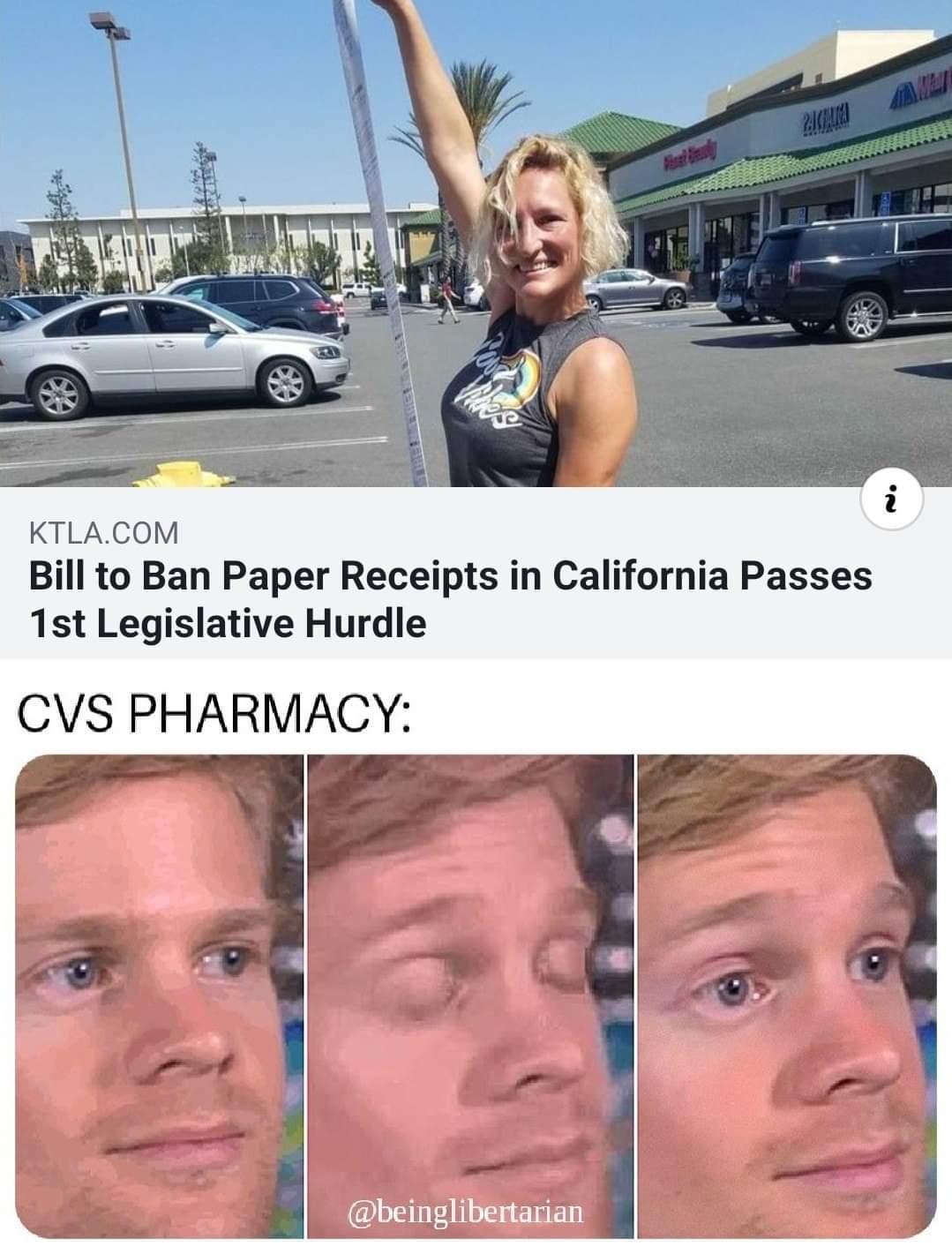 Cvs receipts long af - meme