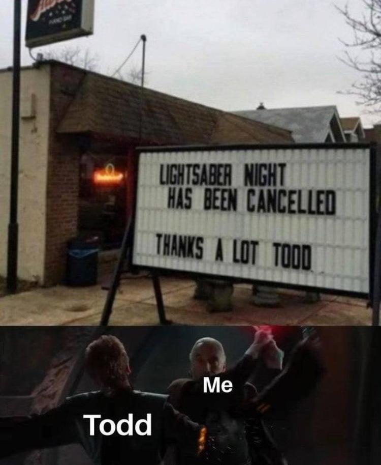 fuck Todd - meme