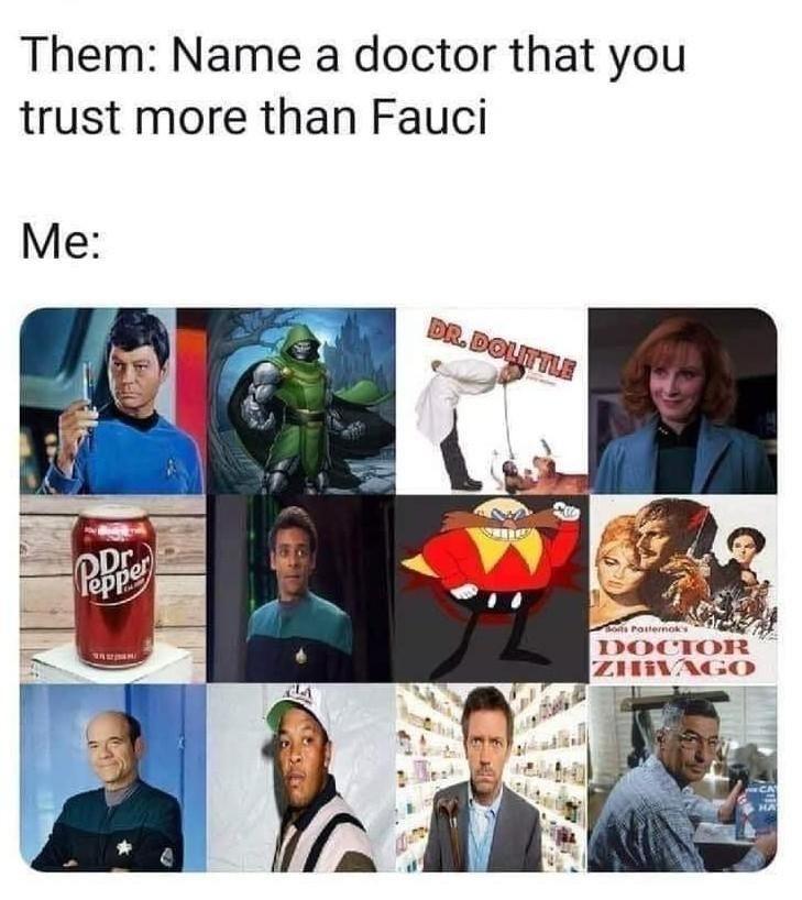 Bones > Crusher > Bashir - meme